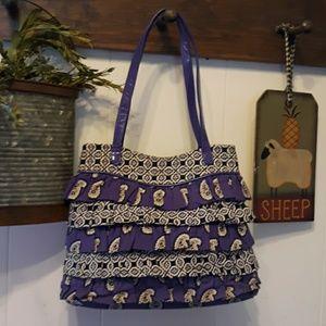 Vera Bradley Cha Cha purse simply violet